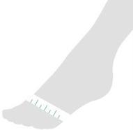 Fußweite bestimmen