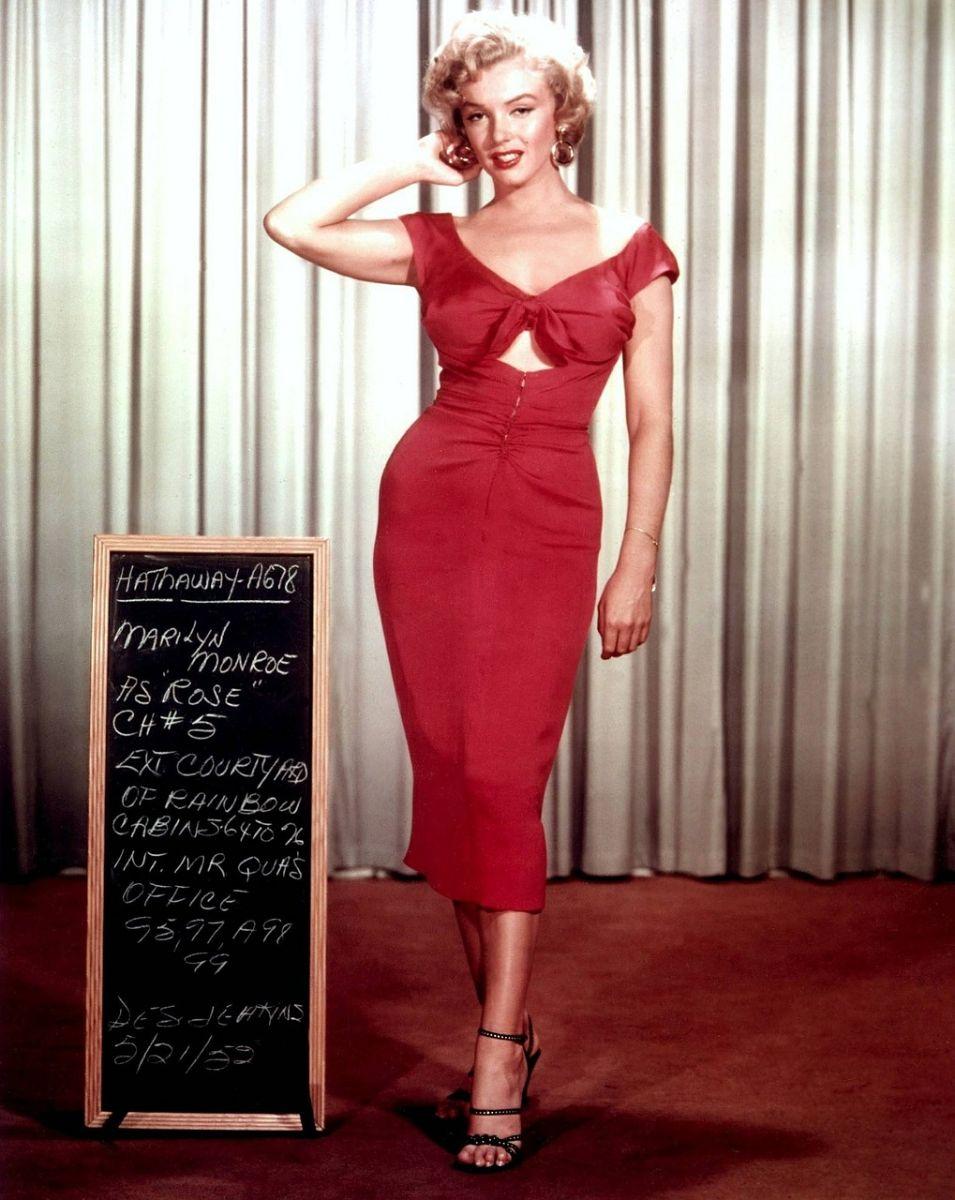 Stilikone Marilyn Monroe