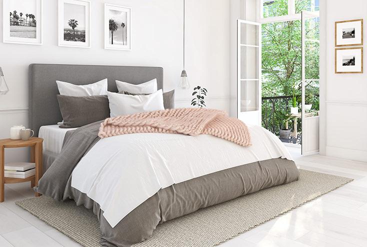 Schlafzimmerteppich