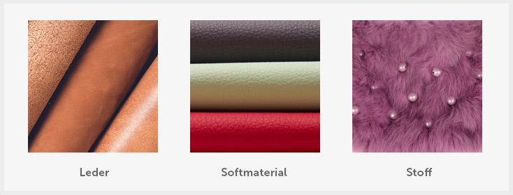 Handtaschen Material