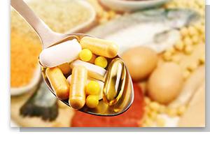 Nahrungsergänzungsmittel bei erkrankten Personen