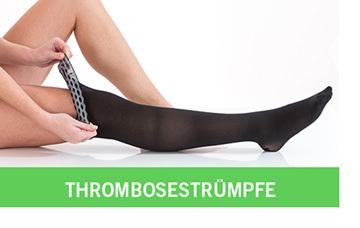 Einstieg Thrombosestrümpfe