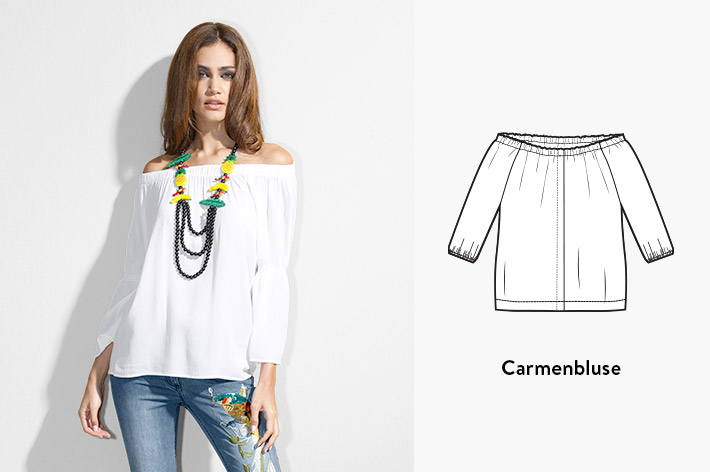 Carmenbluse