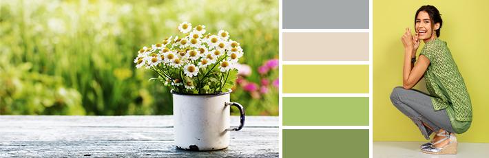 Kleidung Frühlingstyp Muster
