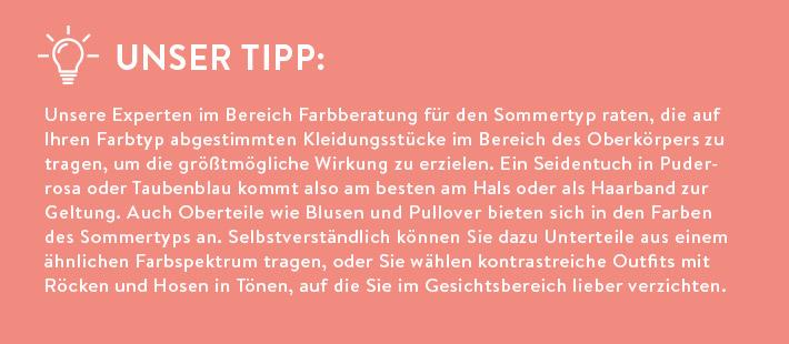 Tipp Sommertyp