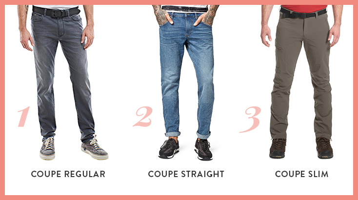 Coupes pantalons homme WENZ
