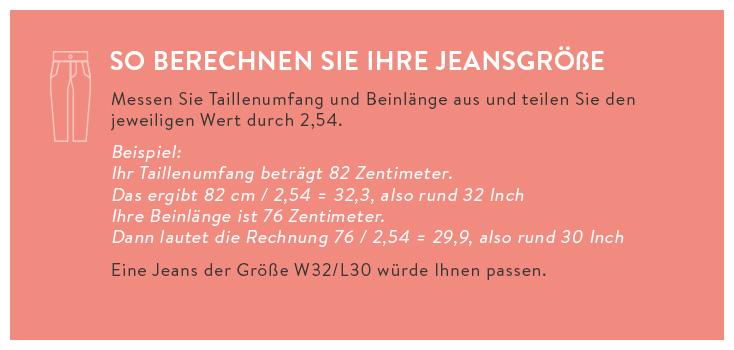 Jeansgrößen