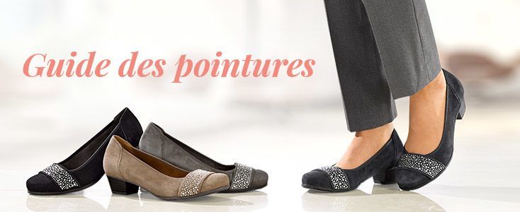 Guide des tailles chaussures WENZ