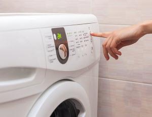 WENZ Waschgang einstellen