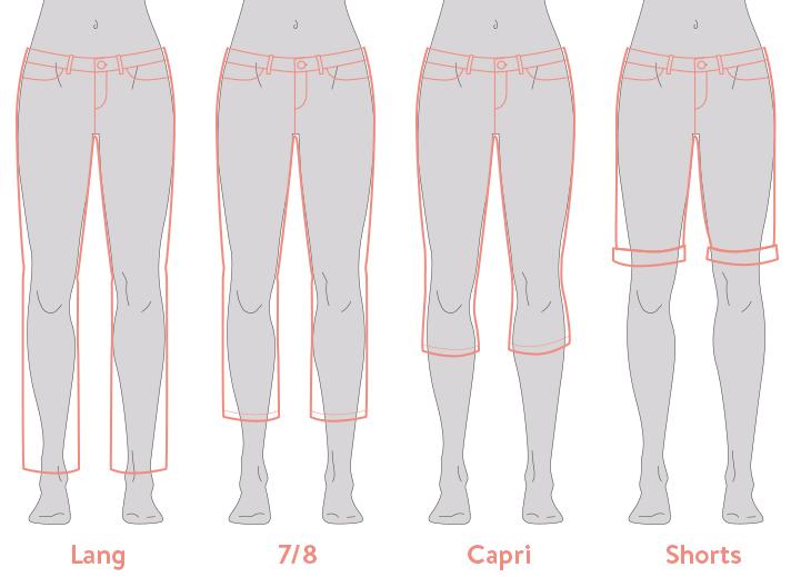 Beinlängen