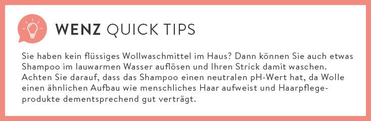 WENZ Quick Tip Wollwaschmittel