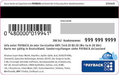 Payback Karte